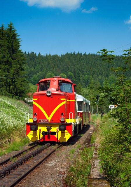 Ozubnicová železnice na Liberecku