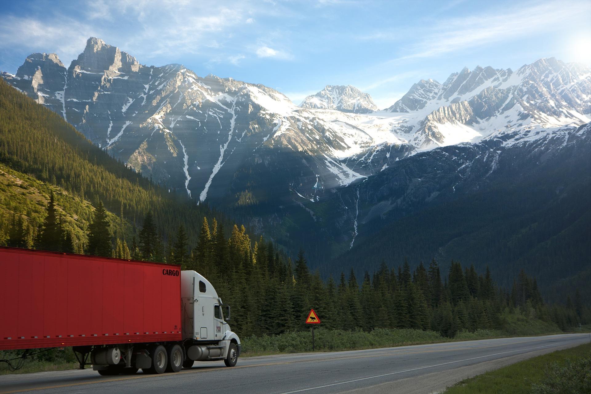 Silniční doprava dopraví zboží až ke dveřím