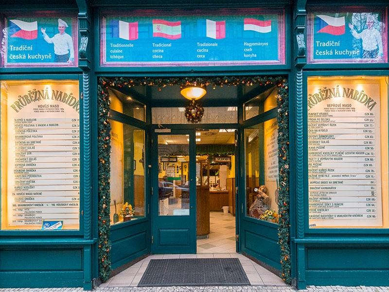 Na českou kuchyni v centru Prahy