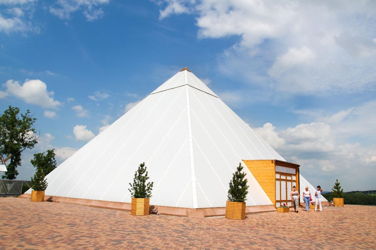 Léčebná pyramida na Vysočině