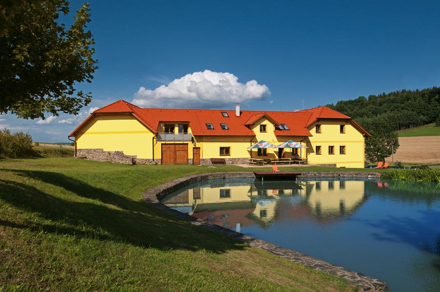 Penzion Podveský mlýn je ideální na dovolenou s dětmi